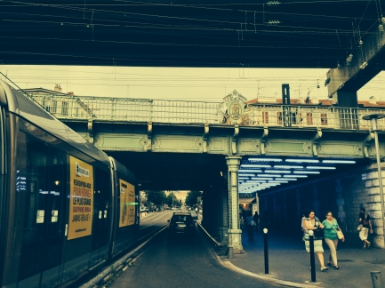 Nice Pont de la gare SNCF
