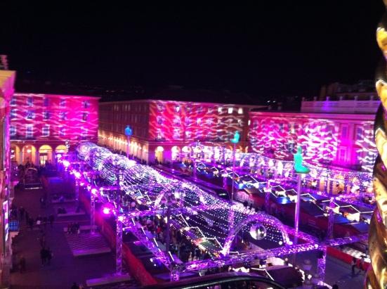 Nice Place Masséna marché de Noël
