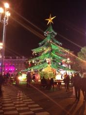Nice Place Masséna décoration de Noël