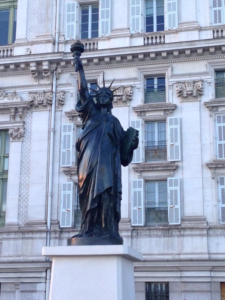 Nice Statue de la Liberté Quai des Etats-Unis