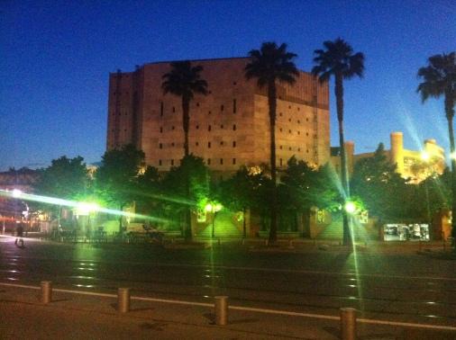 Théâtre National de Nice by night